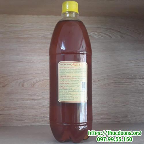 Mật ong rừng miền bắc chai 1 lít